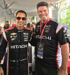 CU Detroit GP Castroneves-Rouse 2016