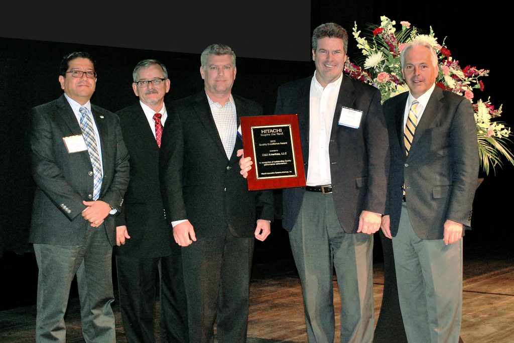 C&U Rouse and Peterson Accept Quality Award