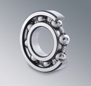CU Single row deep groove ball Bearing.