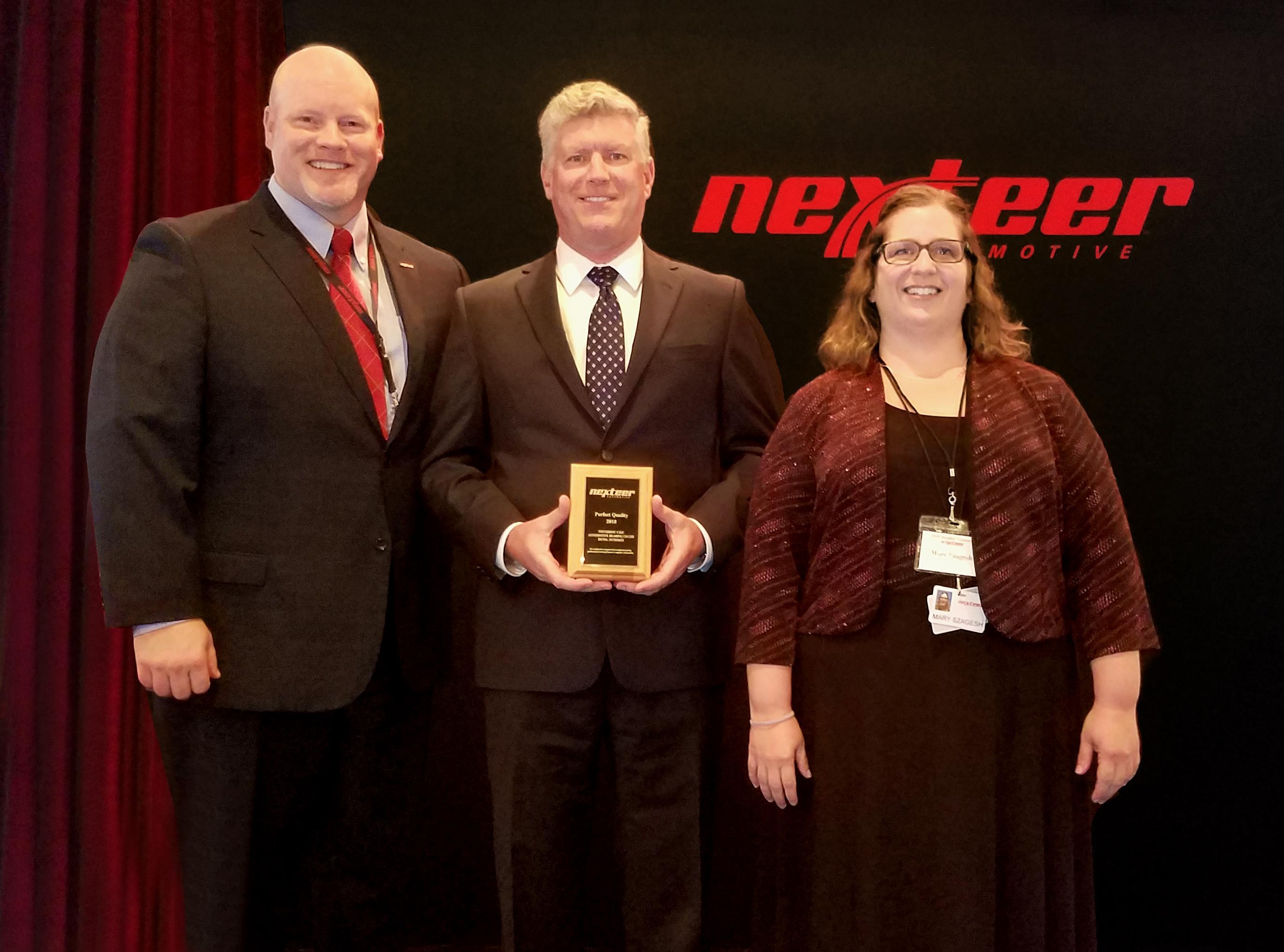 CU Americas 2018 Nexteer Award